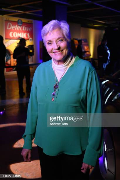Lee Meriwether attends The Batman Experience powered by ATT and ComicCon Museum character Hall Of Fame induction at Comic Con Museum on July 17 2019...