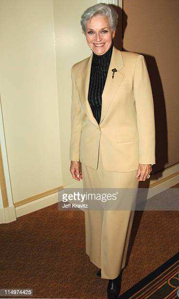 Lee Meriwether during 2006 TCA MTV Networks Green Room at Ritz Carlton Hotel Pavilion Room in Pasadena California United States