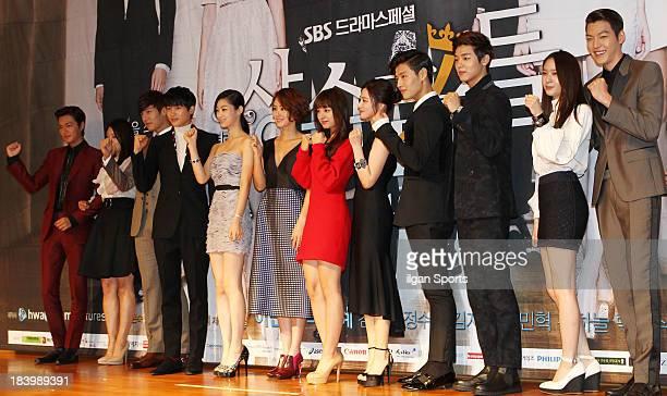 Lee MinHo Park ShinHye Choi JinHyuk Park HyungSik Jeon SuJin Kim SungRyeong Kim JiWon Lim JuEun Kang HaNeul Kang MinHyuk Krystal and Kim WooBin...