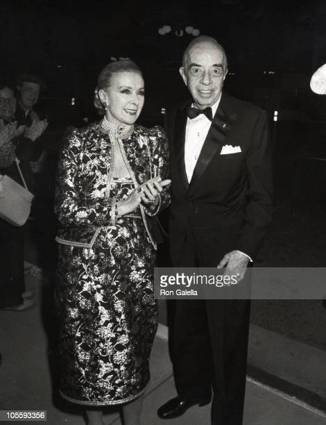 Lee Minnelli and Vincente Minnelli during Vincent Minnelli 80th Birthday Celebration at the Desert Museum in Palm Springs at Desert Museum in Palm...