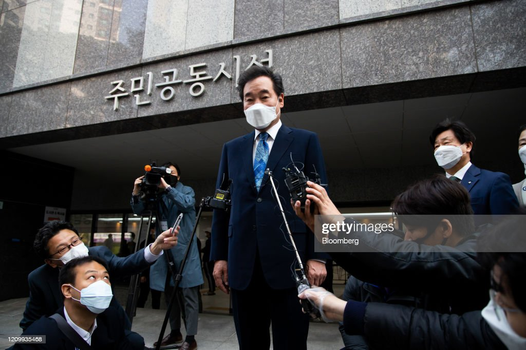 South Korea Vote During Pandemic May Become Model for the World : News Photo