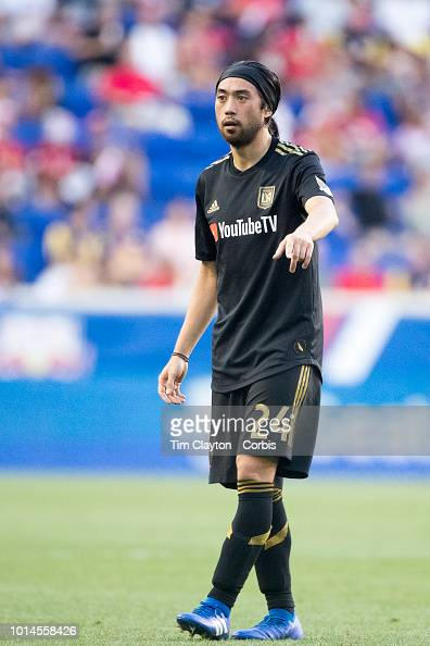Lee Nguyen of Los Angeles FC during the New York Red Bulls Vs Los