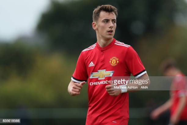 Lee O'Connor of Manchester United during the U18 Premier League match between West Bromwich Albion and Manchester United on August 19 2017 in West...