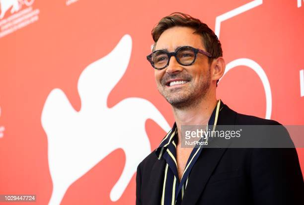 Lee Pace attend 'Driven' photocall during the 75th Venice Film Festival on September 8 2018 in Venice Italy