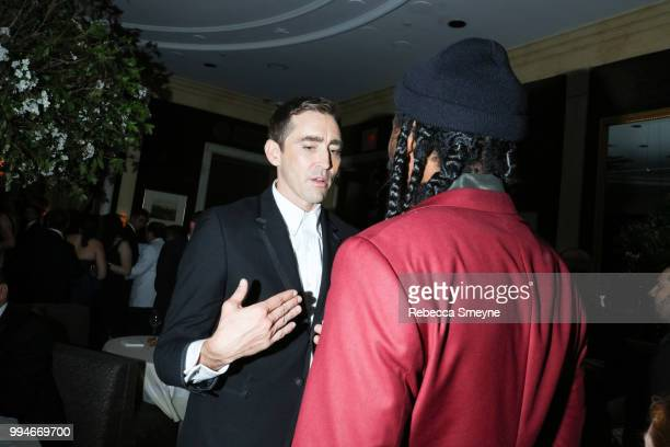 Lee Pace attends the 10th Annual OM Tony Awards party at the Carlyle on June 10 2018 in New York New York