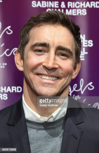 Lee Pace attends The American Associates of the National Theatre's Gala celebrating Tony Kushner's 'Angels in America' on March 11 2018 at the...