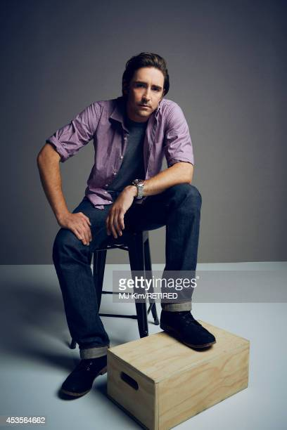 Lee Pacees for a portrait at the Getty Images Portrait Studio powered by Samsung Galaxy at ComicCon International 2014 on July 24 2014 in San Diego...