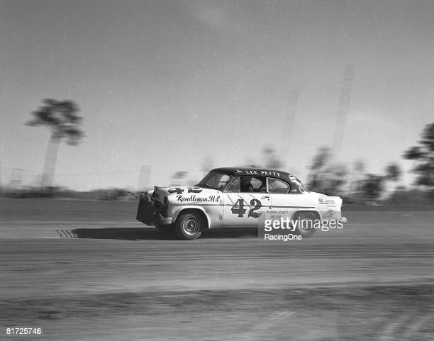 Lee Petty was declared winner of the Daytona Beach February classic during Speed Week 1954 after Tim Flock was disqualified a move which prompted...