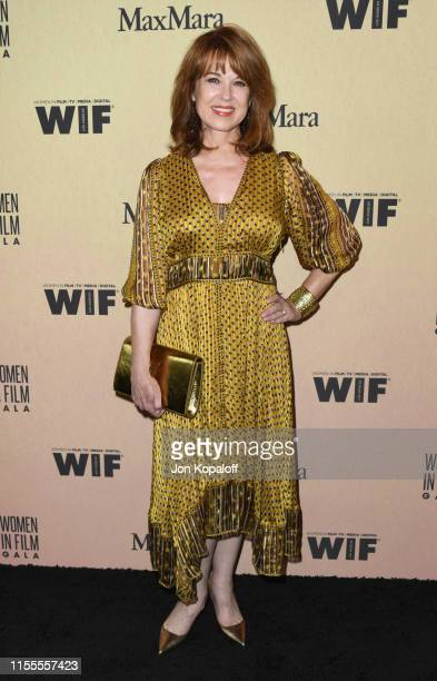 Lee Purcell attends Women In Film Annual Gala 2019 Presented By Max Mara at The Beverly Hilton Hotel on June 12, 2019 in Beverly Hills, California.