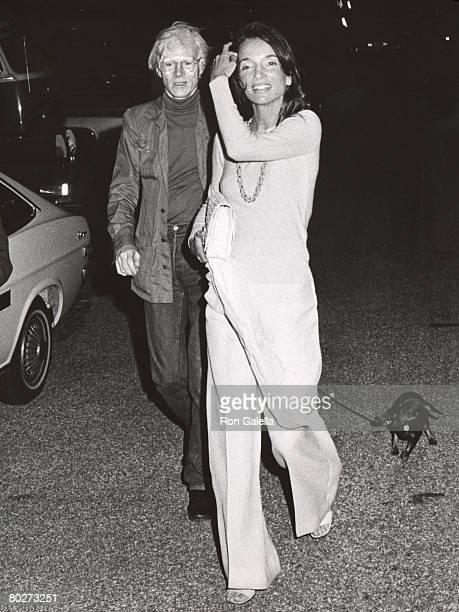 Lee Radziwill and Andy Warhol