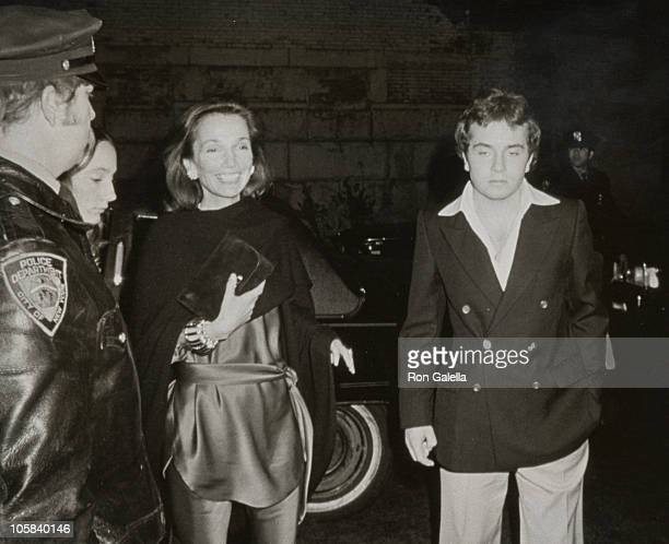 Lee Radziwill and Anthony Radziwill during 21st 18th Birthday Party for Caroline Kennedy and John F Kennedy Jr at Le Club in New York City New York...