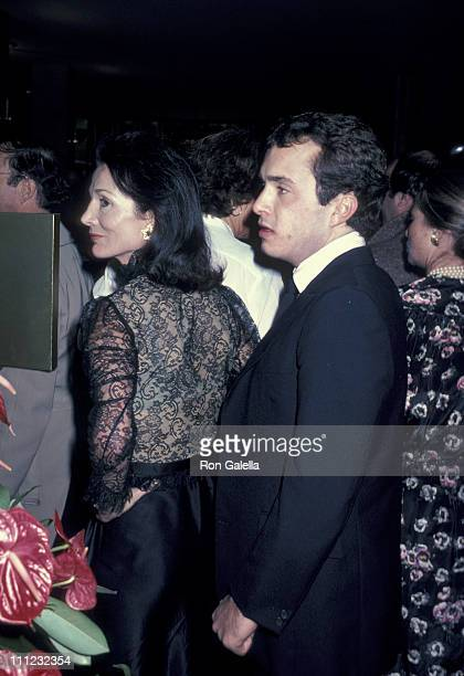 Lee Radziwill and Anthony Radziwill during Barrymore Lunch Hour Preview Party at Milford Plaza Hotel in New York City New York United States