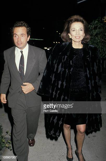 Lee Radziwill and Anthony Radziwill during Pierre Salinger Party at Regine's in New York City New York United States