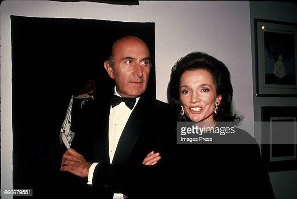 Lee Radziwill and Beppe Modenese circa 1982 in New York City.