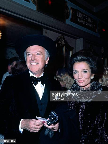 Lee Radziwill and Cecil Beaton on December 181969 in New York New York