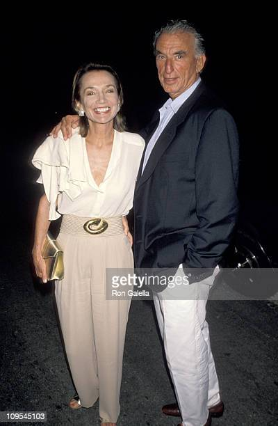 Lee Radziwill and Herb Ross during HBO Film Premiere of 'Women and Men Stories of Seduction' at East Hampton Cinema in East Hampton New York United...