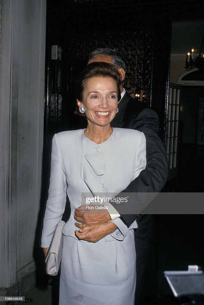 Lee Radziwill and Herb Ross Wedding and Dinner Reception - September 23, 1988 : News Photo
