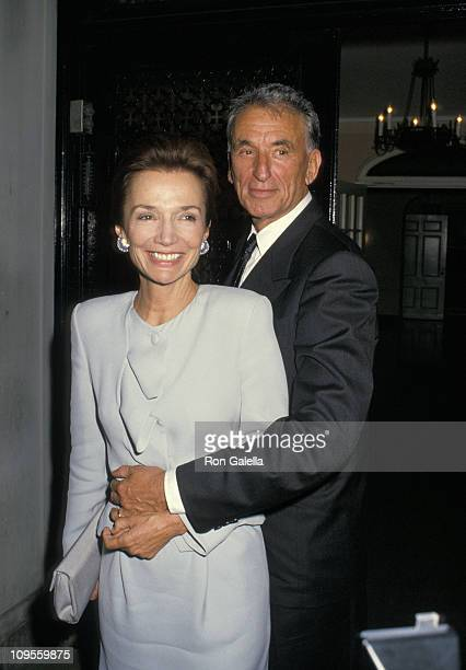 Lee Radziwill and Herb Ross during Lee Radziwill and Herb Ross Wedding and Dinner Reception September 23 1988 at Home of Lee Radziwill in New York...