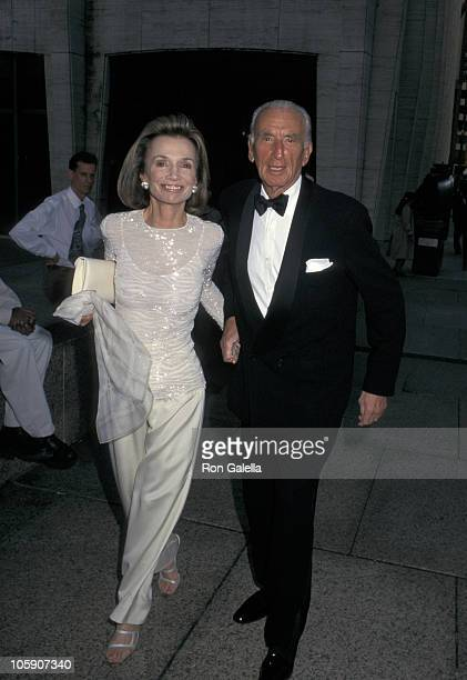 Lee Radziwill and Herb Ross during 'Othello' Opening Night May 12 1997 at Metropolitan Opera House in New York City New York United States