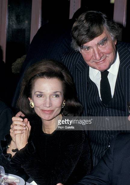 Lee Radziwill and Pierre Salinger during Pierre Salinger Party at Regine's in New York City New York United States