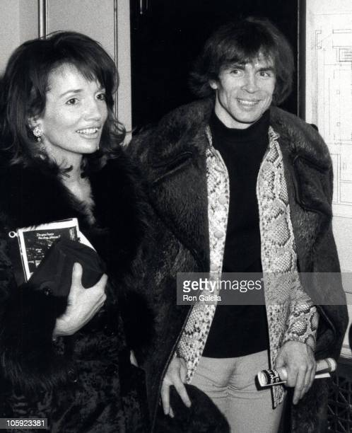 Lee Radziwill and Rudolf Nureyev during Candide Opening March 5 1974 in New York City New York United States