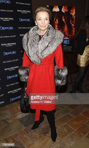Lee Radziwill attends a screening of Dreamgirls hosted by The Cinema Society on December 14, 2006 in New York City.
