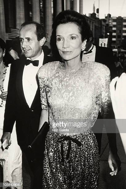 Lee Radziwill during Opening of The Paris Ballet at Metropolitian Opera House in New York City, New York, United States.