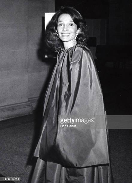Lee Radziwill during The Glory of Russian Costume Exhibit Opening at Metropolitan Museum of Art in New York City New York United States