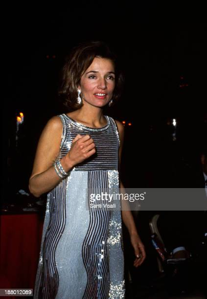 Lee Radziwill posing for a photo on November 28, 1966 in New York, New York.