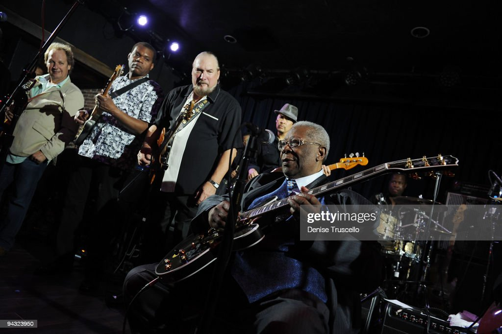 B.B. King's Blues Club Celebrates Grand Opening At The Mirage