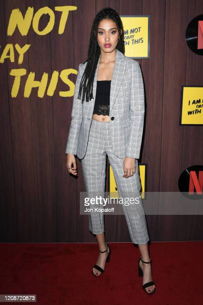 Lee Rodriguez attends Netflix's I Am Not Okay With This Photocall at The London West Hollywood on February 25 2020 in West Hollywood California