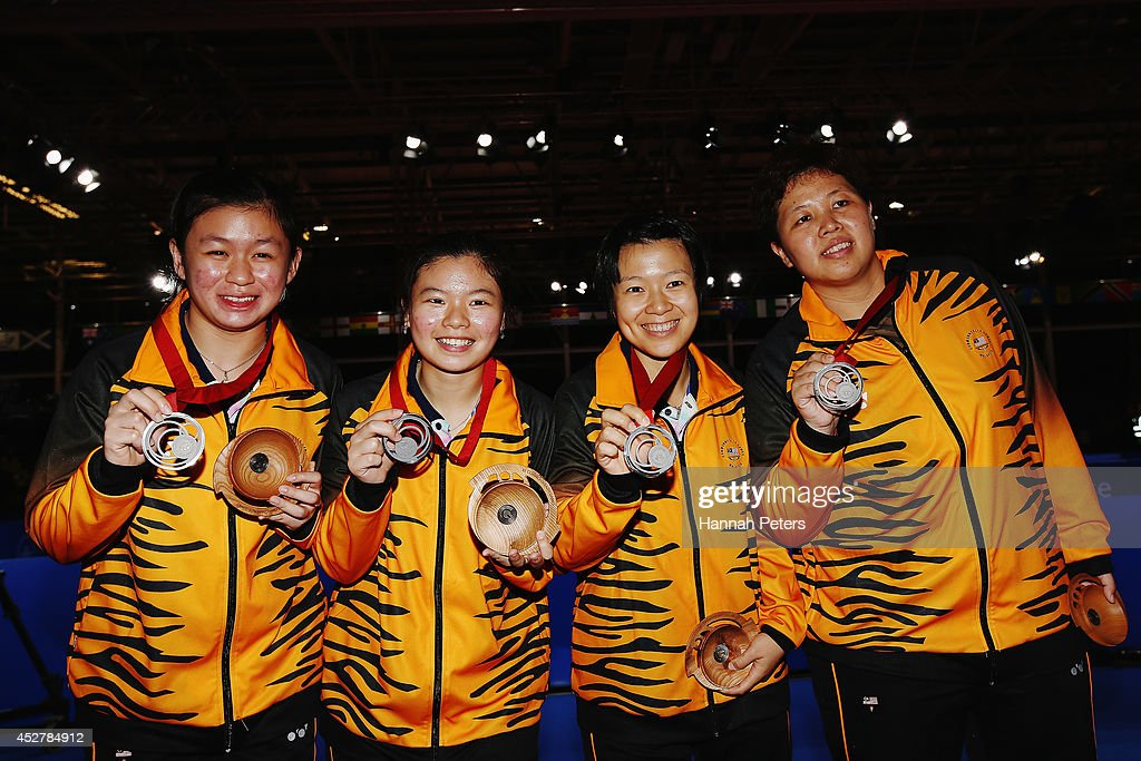 20th Commonwealth Games - Day 4: Table Tennis : News Photo