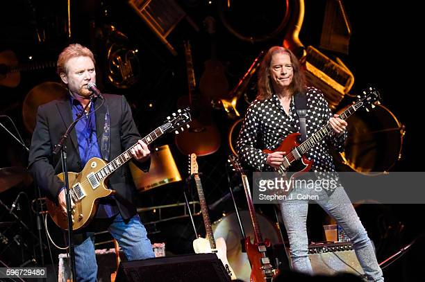 Lee Roy Parnell and Robben Ford of Guitar Army performs at The Bombard Theater on August 27 2016 in Louisville Kentucky