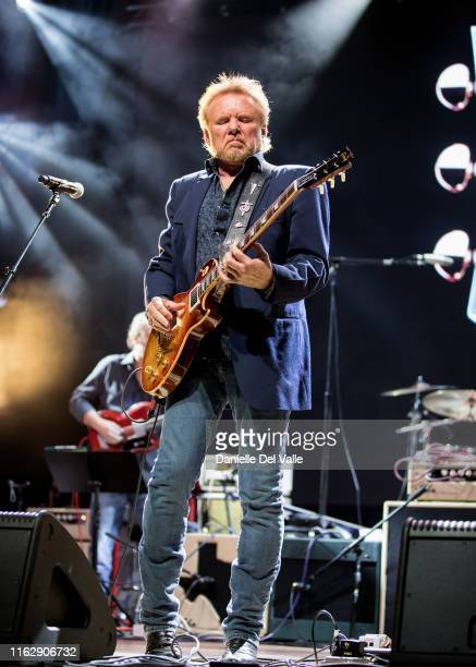 Lee Roy Parnell performs onstage during the 2019 Summer NAMM Jam Gibson Opening Party at Wildhorse Saloon on July 18 2019 in Nashville Tennessee
