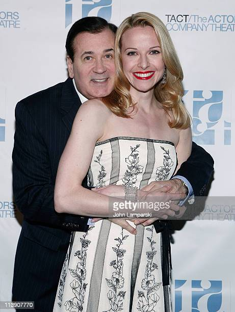 Lee Roy Reams and Meredith Patterson attend the TACT/The Actors Company Theatre Spring Gala at The Edison Ballroom on May 9 2011 in New York United...