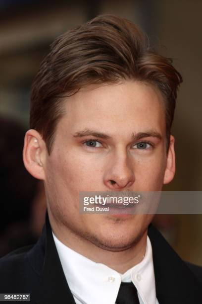 Lee Ryan attends the world Premiere of 'The Heavy' at Odeon West End on April 15 2010 in London England
