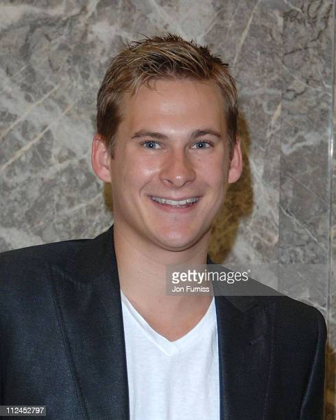 """Lee Ryan during Capital FM's Breakfast Show with Johnny Vaughan - """"Party In The Car Park"""" - August 5, 2005 at Macmillan Cancer Relief HQ in London,..."""