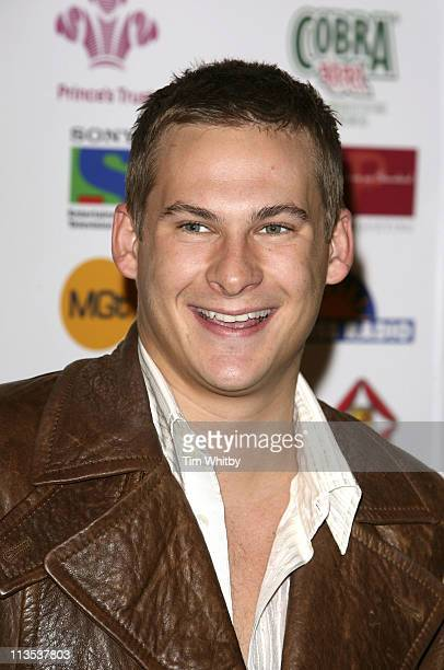 Lee Ryan during Sony Entertainment Television Asian Sports Personality of the Year Awards Arrivals at London Hilton in London Great Britain