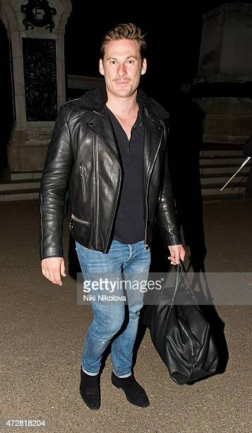 Lee Ryan is seen leaving the V Day Concert on May 09 2015 in London England