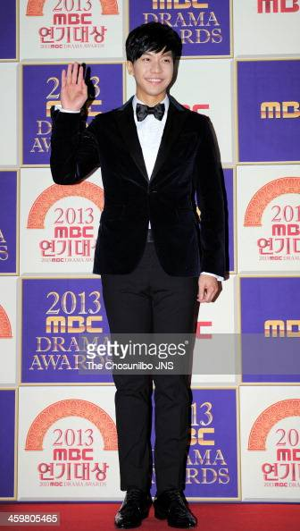 Lee Seung-Gi arrives at the red carpet of the 2013 MBC drama