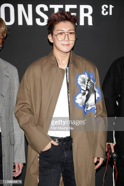 Lee Seung-Hoon of South Korean boy band WINNER attends the photocall for GENTLE MONSTER on February 14, 2019 in Seoul, South Korea.
