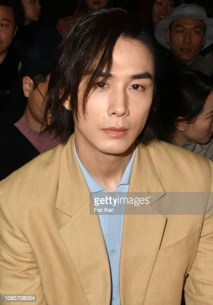 Lee Seunghyun attends the Kenzo Menswear Fall/Winter 20192020 show as part of Paris Fashion Week on January 20 2019 in Paris France