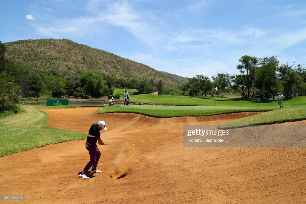 Nedbank Golf Challenge - Day Two