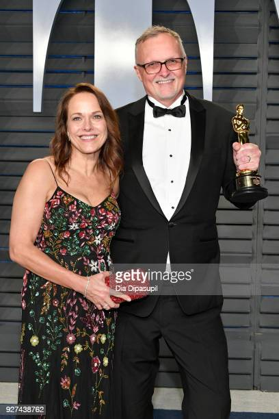 Lee Smith attends the 2018 Vanity Fair Oscar Party hosted by Radhika Jones at Wallis Annenberg Center for the Performing Arts on March 4 2018 in...