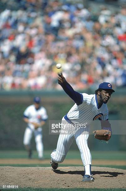 Lee Smith of the Chicago Cubs winds up the pitch during a game in May 1985 Lee Smith played for the Chicago Cubs from 19801987
