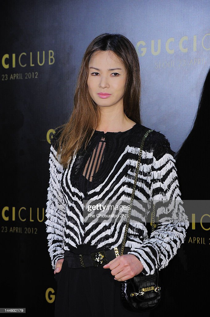 Lee So-Ra attends the 'Gucci Club' Party for celebrating the renewal of Gucci Seoul Flagship Store on April 23, 2012 in Seoul, South Korea.