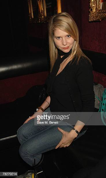 Lee Starkey attends the Virgin Media launch party, at Cirque Hippodrome on February 8, 2007 in London, England.