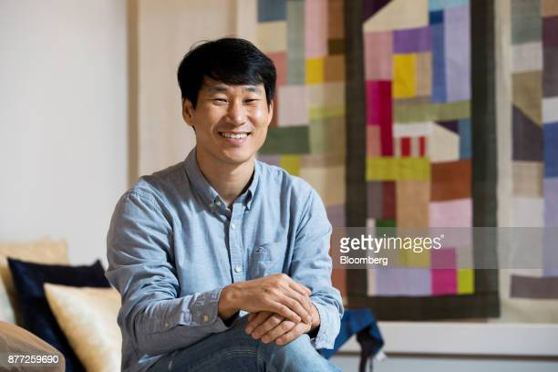 Lee Sujin chief executive officer of Yanolja Co poses for a photograph in Seoul South Korea on Tuesday Oct 10 2017 Lee is founder of Yanolja Korean...