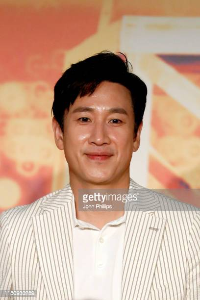 Lee Sungyun attends the Parasite Press Conference during the 72nd annual Cannes Film Festival on May 22 2019 in Cannes France