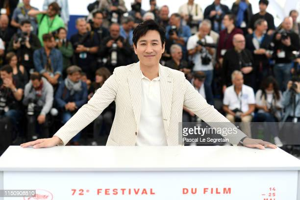 Lee Sungyun attends thephotocall for Parasite during the 72nd annual Cannes Film Festival on May 22 2019 in Cannes France